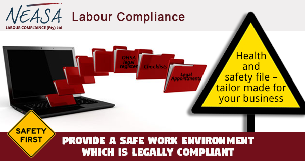 Health and Safety file – Tailor made for your business