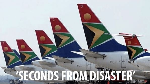 Unions strike: SAA 'seconds from disaster'