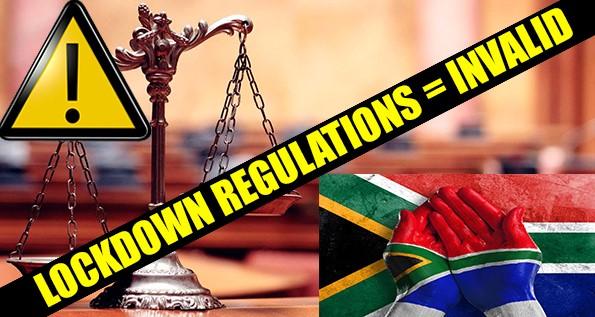 IMPORTANT NOTICE! COVID-19 Lockdown: Regulations declared invalid