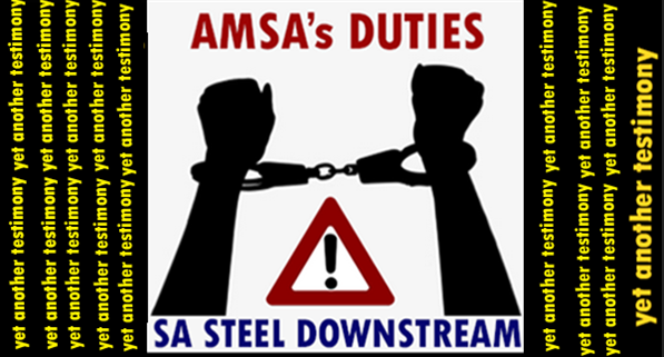 STEEL INDUSTRY: Conducting your business with the DUTIES-SWORD hanging over your head (yet another testimony)